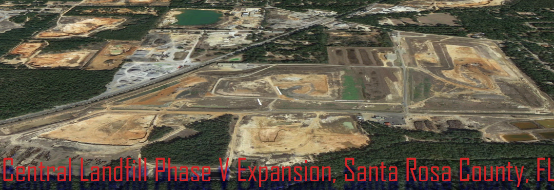 Central Landfill Phase V Expansion Earthwork Takeoff