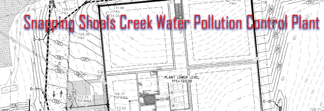 Snapping Shoals Creek Water Pollution Control Plant